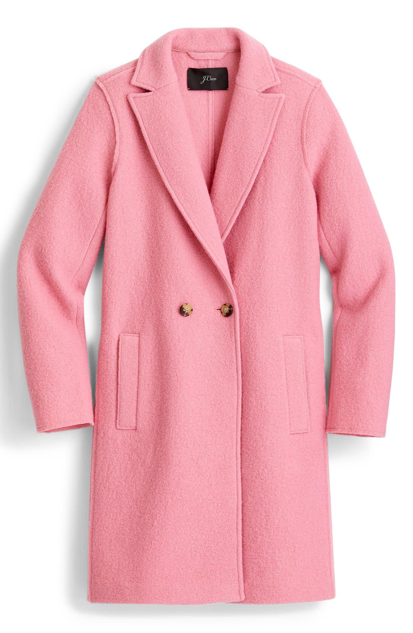 ,                             Daphne Boiled Wool Topcoat,                             Alternate thumbnail 51, color,                             650