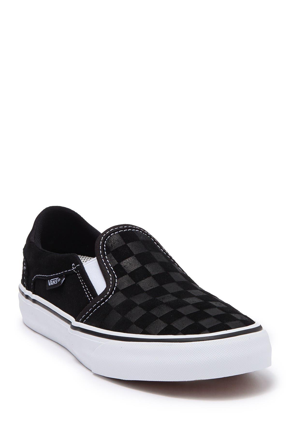 VANS | Asher Deluxe Checkerboard Slip