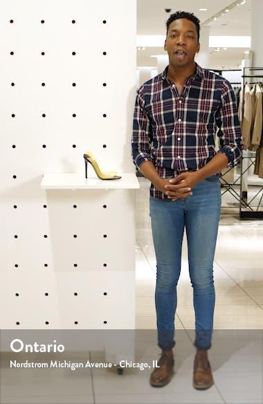 Kandis Clear Slingback Sandal, sales video thumbnail