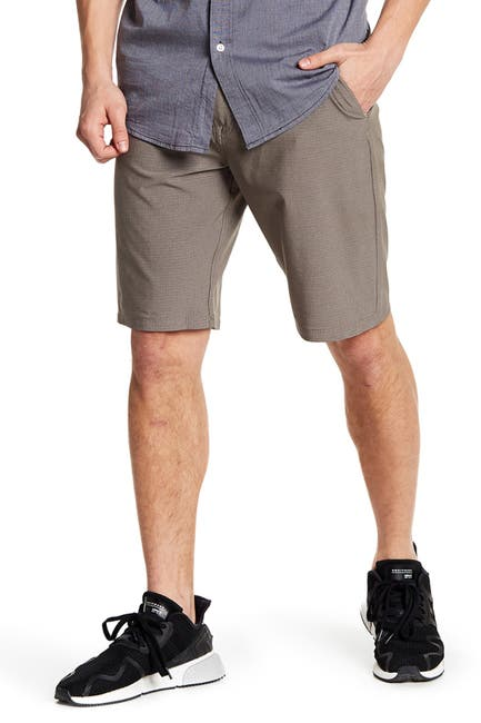 Image of Volcom Patterned Dry Hybrid Shorts