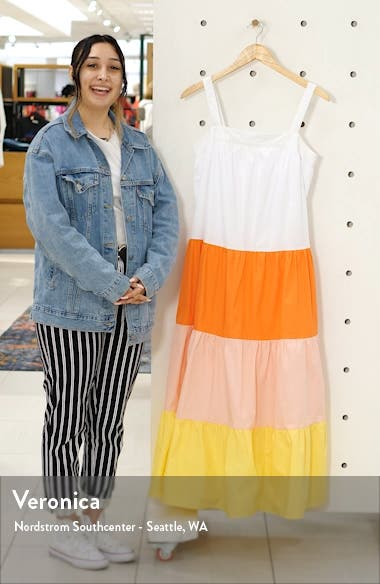 Colorblock Maxi Dress, sales video thumbnail
