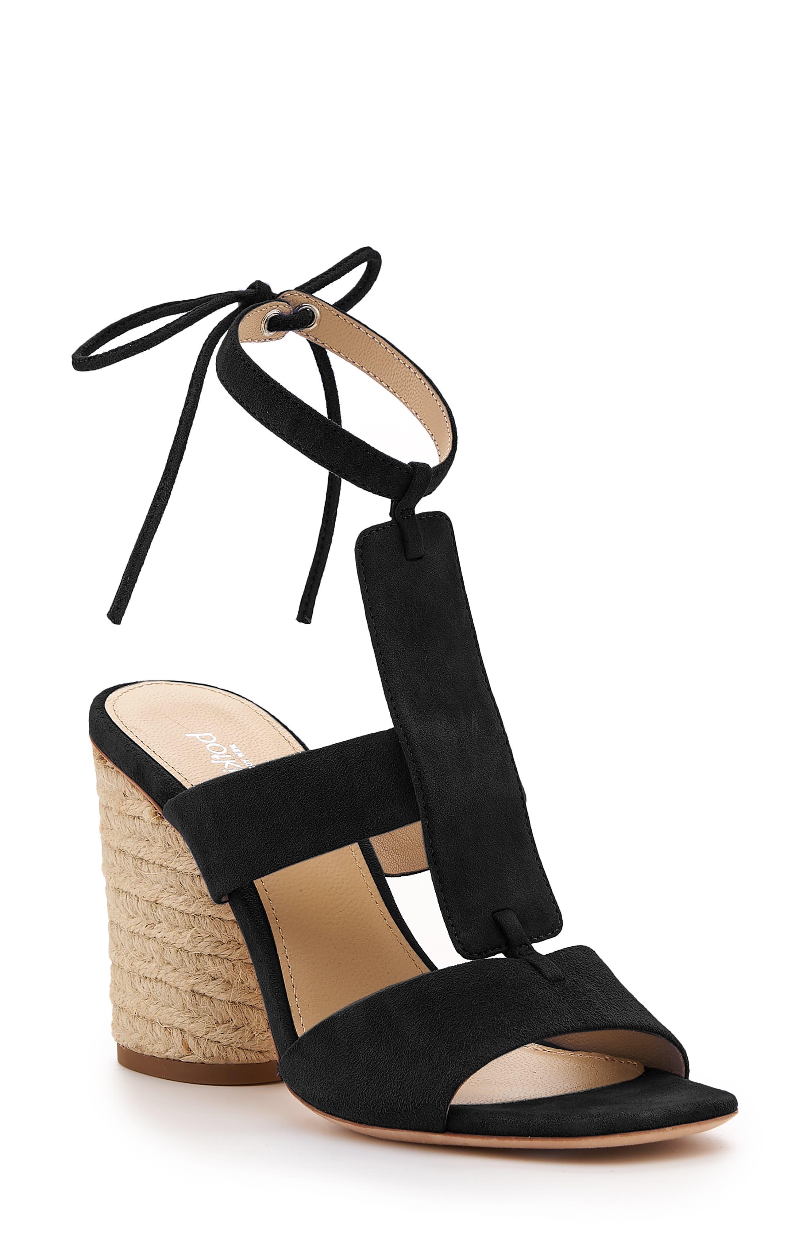 Alexia Sandal, Main, color, BLACK SUEDE