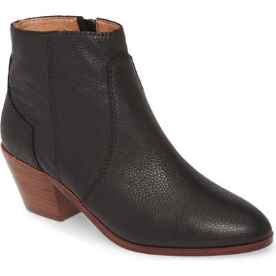 Madewell The Western Leather Boot, Black