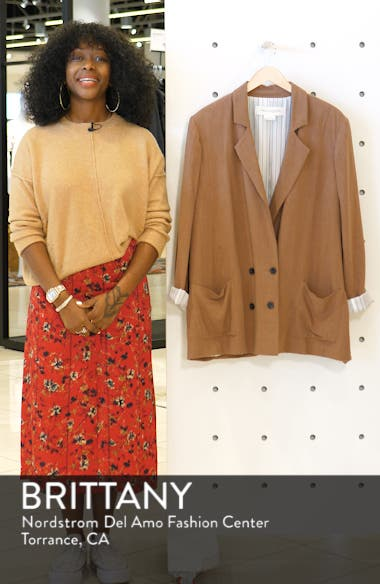 Double Breasted Blazer, sales video thumbnail