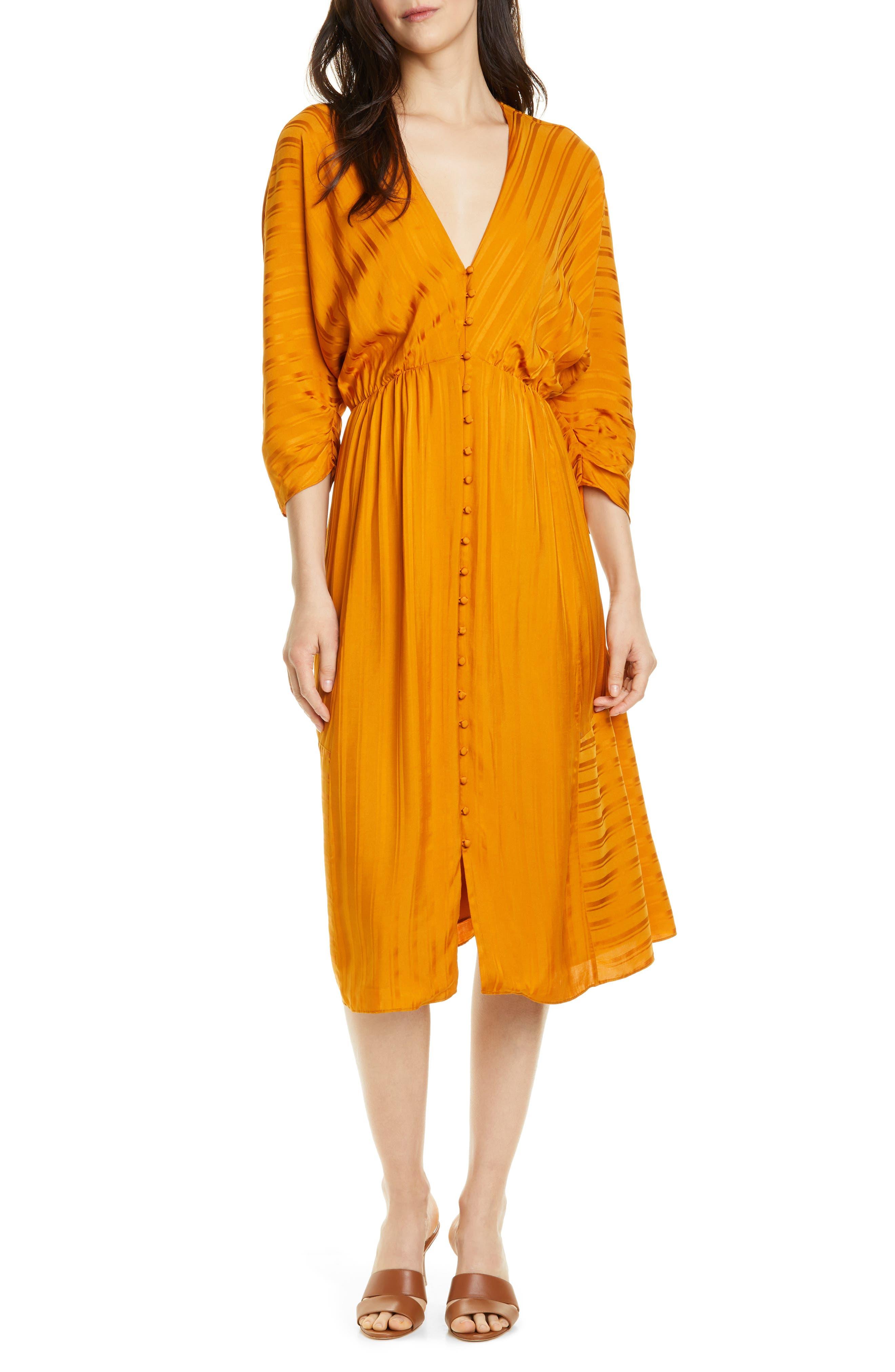 Joie Brit Dolman Sleeve Dress, Brown