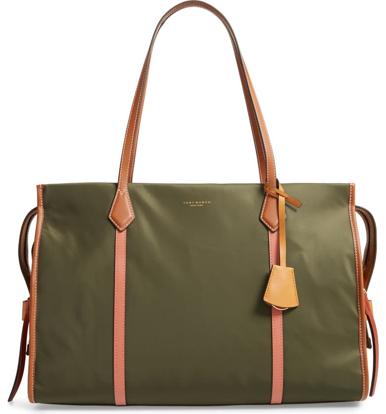 TORY BURCH Perry Nylon Tote, Main, color, 332