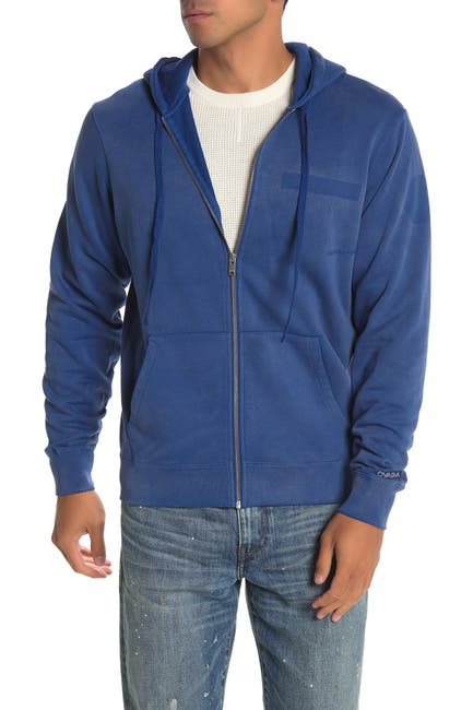 Image of OVADIA AND SONS Washed Zip Hoodie