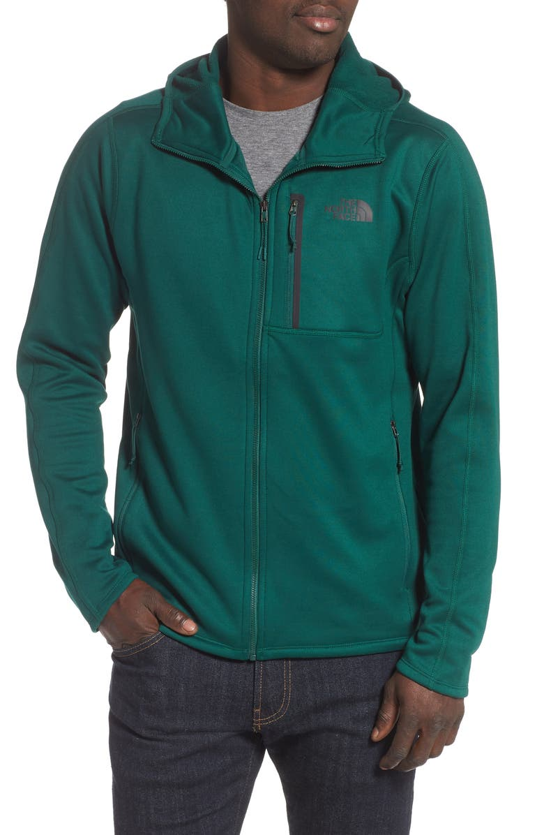 THE NORTH FACE Canyonlands Hooded Jacket, Main, color, NIGHT GREEN