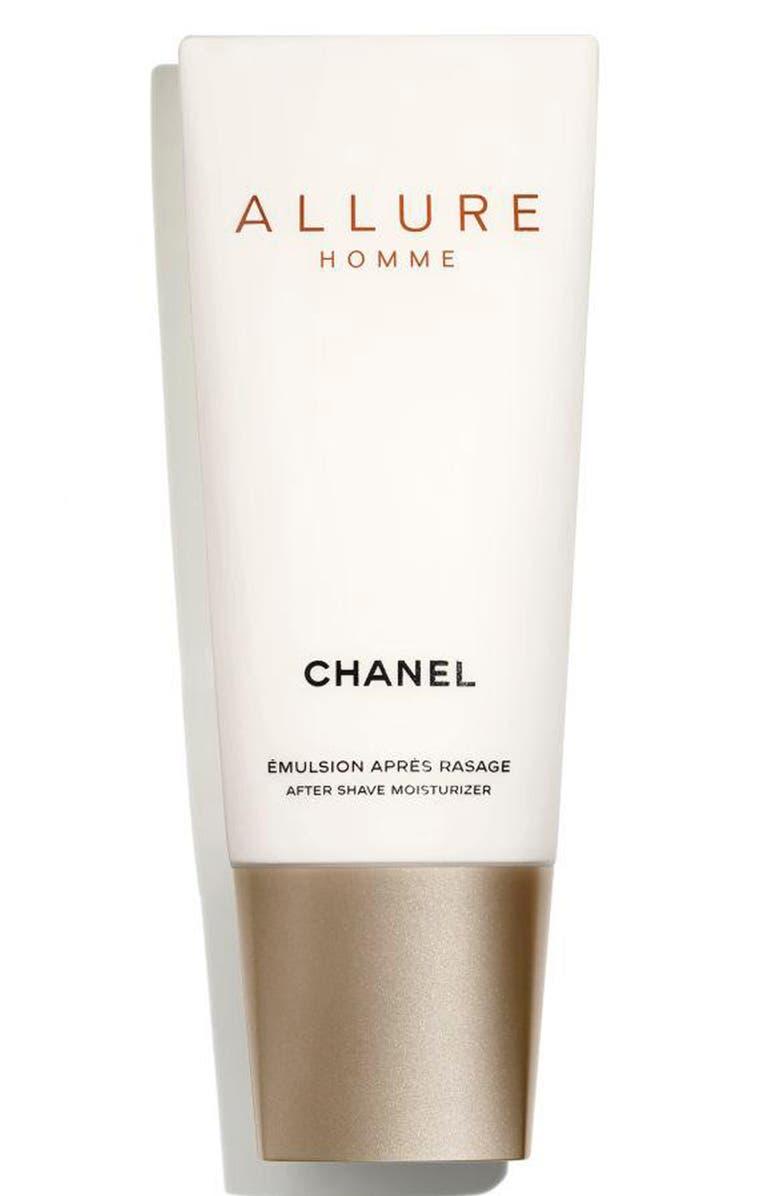 CHANEL ALLURE HOMME <br />After Shave Moisturizer, Main, color, 001