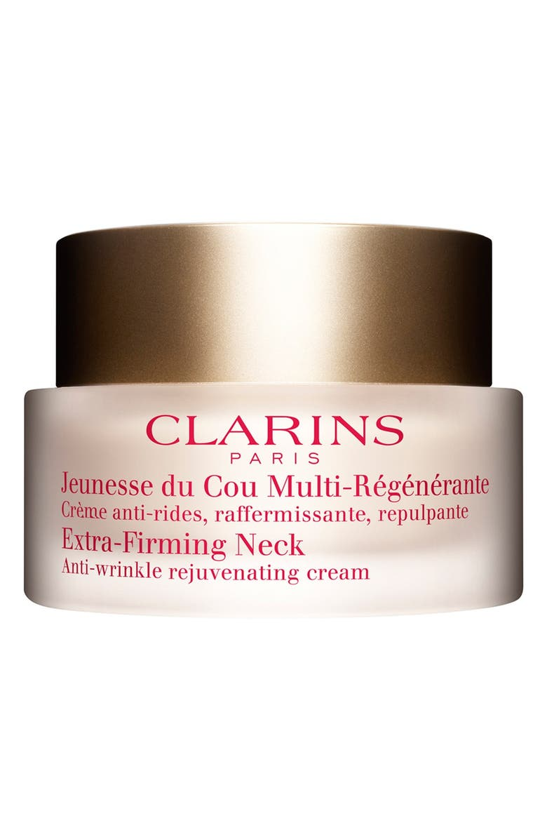 CLARINS Extra-Firming Advanced Neck Cream, Main, color, 000