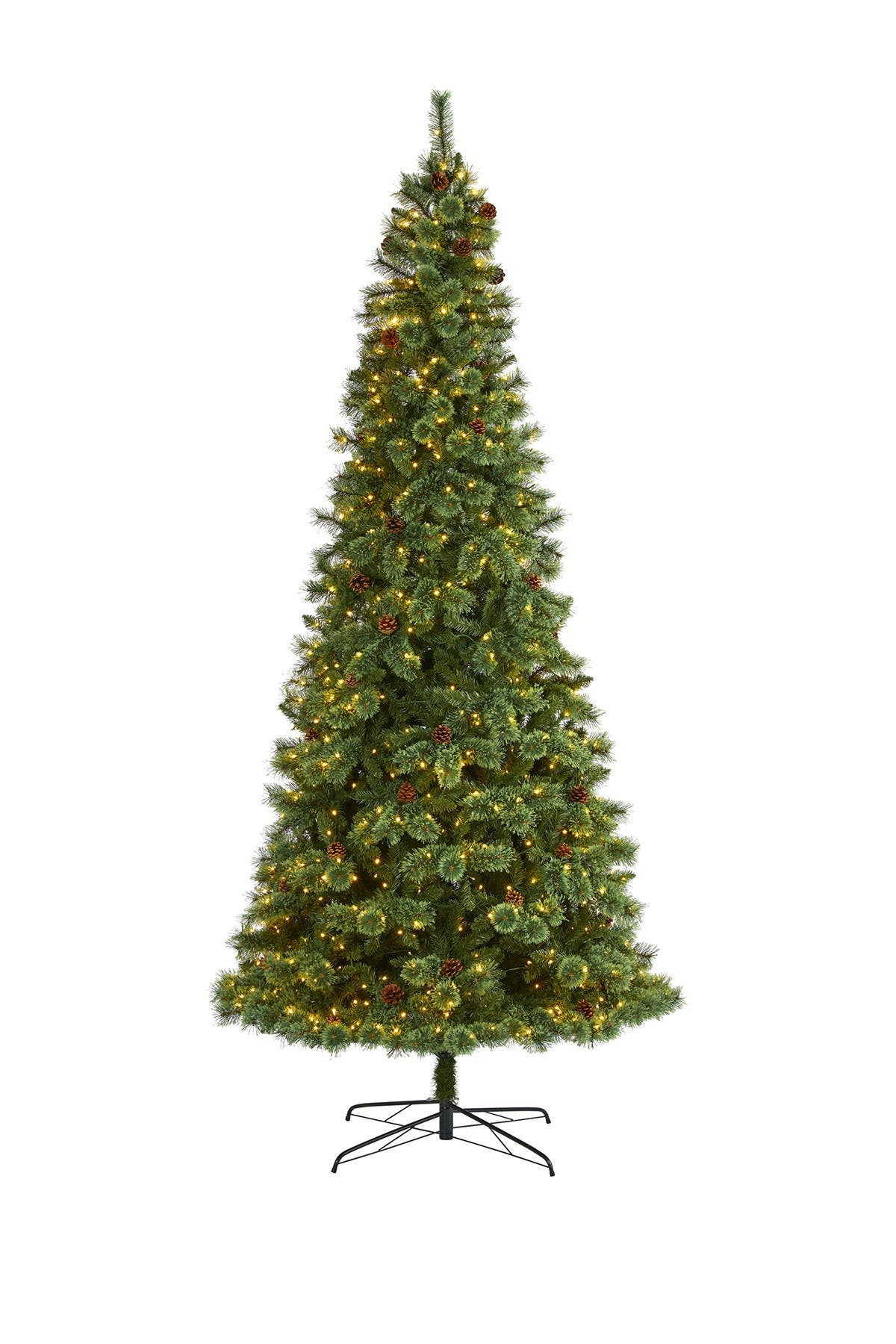 Image of NEARLY NATURAL 10ft. White Mountain Pine Artificial Christmas Tree