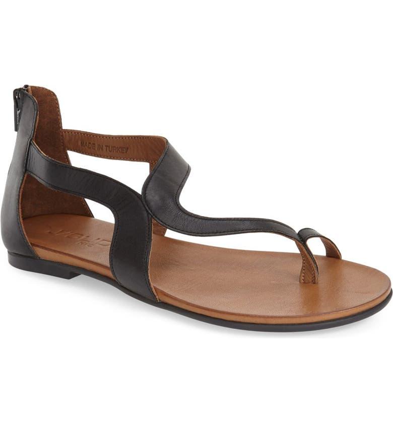 JSLIDES 'Belle' Sandal, Main, color, 001