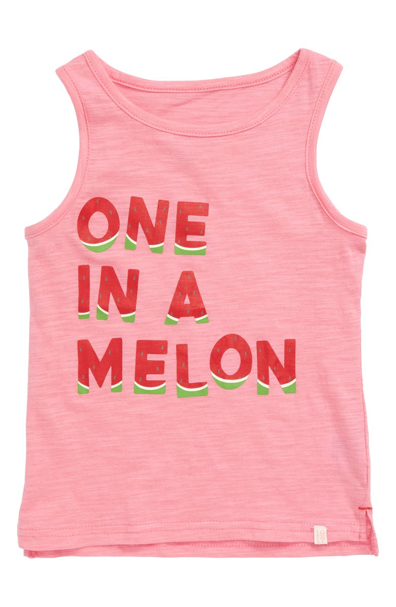 SOVEREIGN CODE Aimee Graphic Tank, Main, color, ONE IN A MELON/ PINK