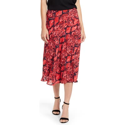 Petite Gibson X Hot Summer Nights Roselyn Pleated Maxi Skirt, Red (Regular & Petite) (Nordstrom Exclusive)