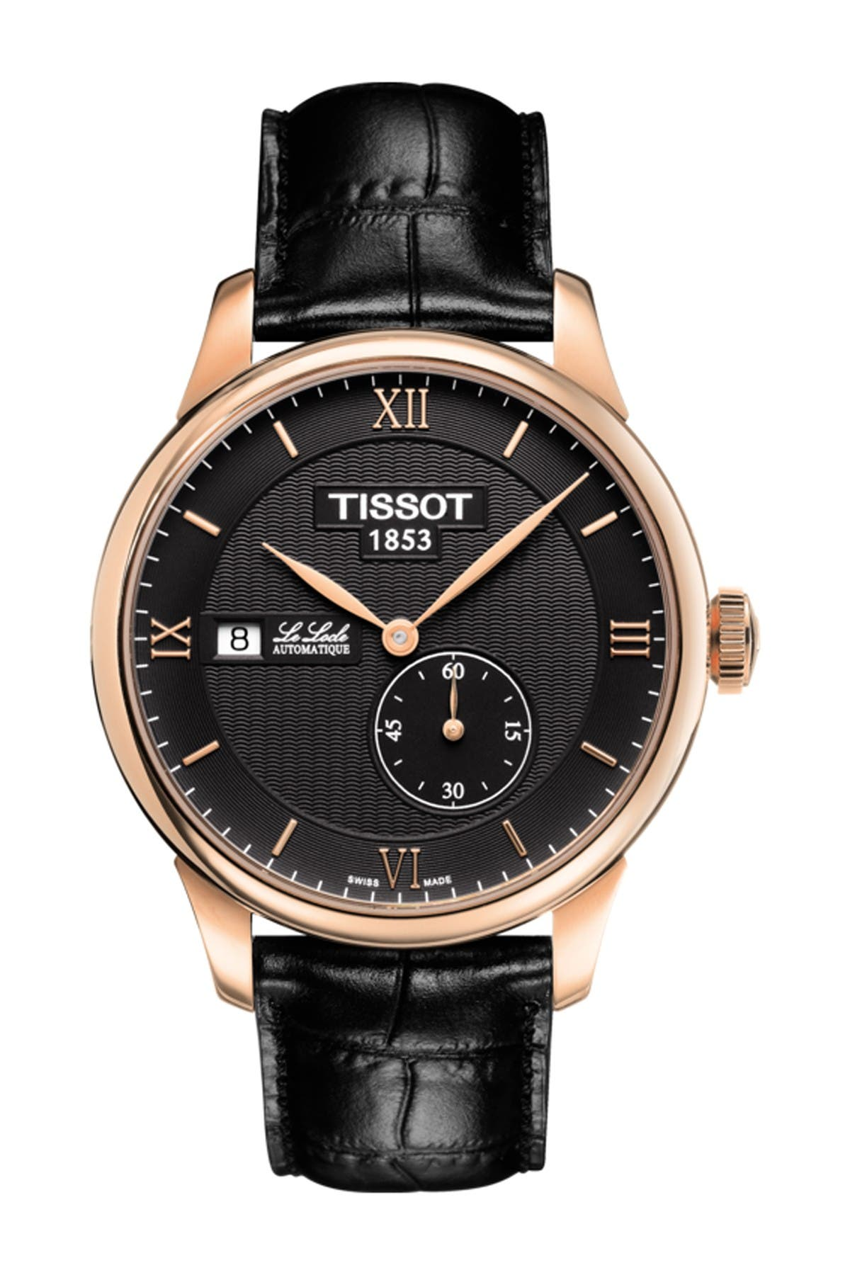 Image of Tissot Men's Le Locle Automatic Petite Seconde Watch, 39.3mm