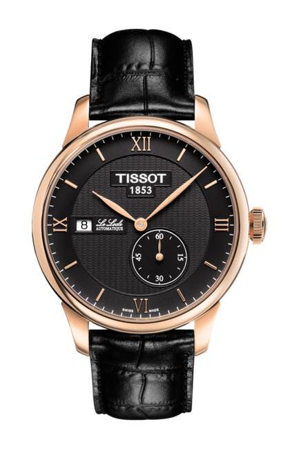 Image of Tissot Men's Le Locle Automatic Petite Seconde Watch, 39.3mm