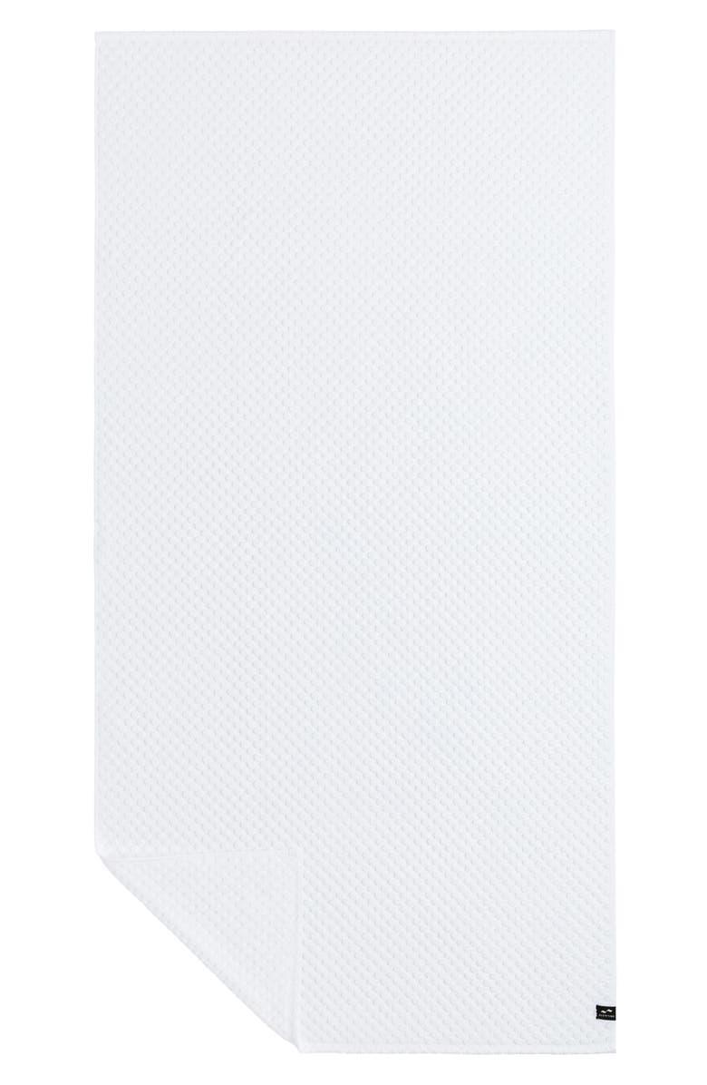 SLOWTIDE Clive Bath Towel, Main, color, WHITE