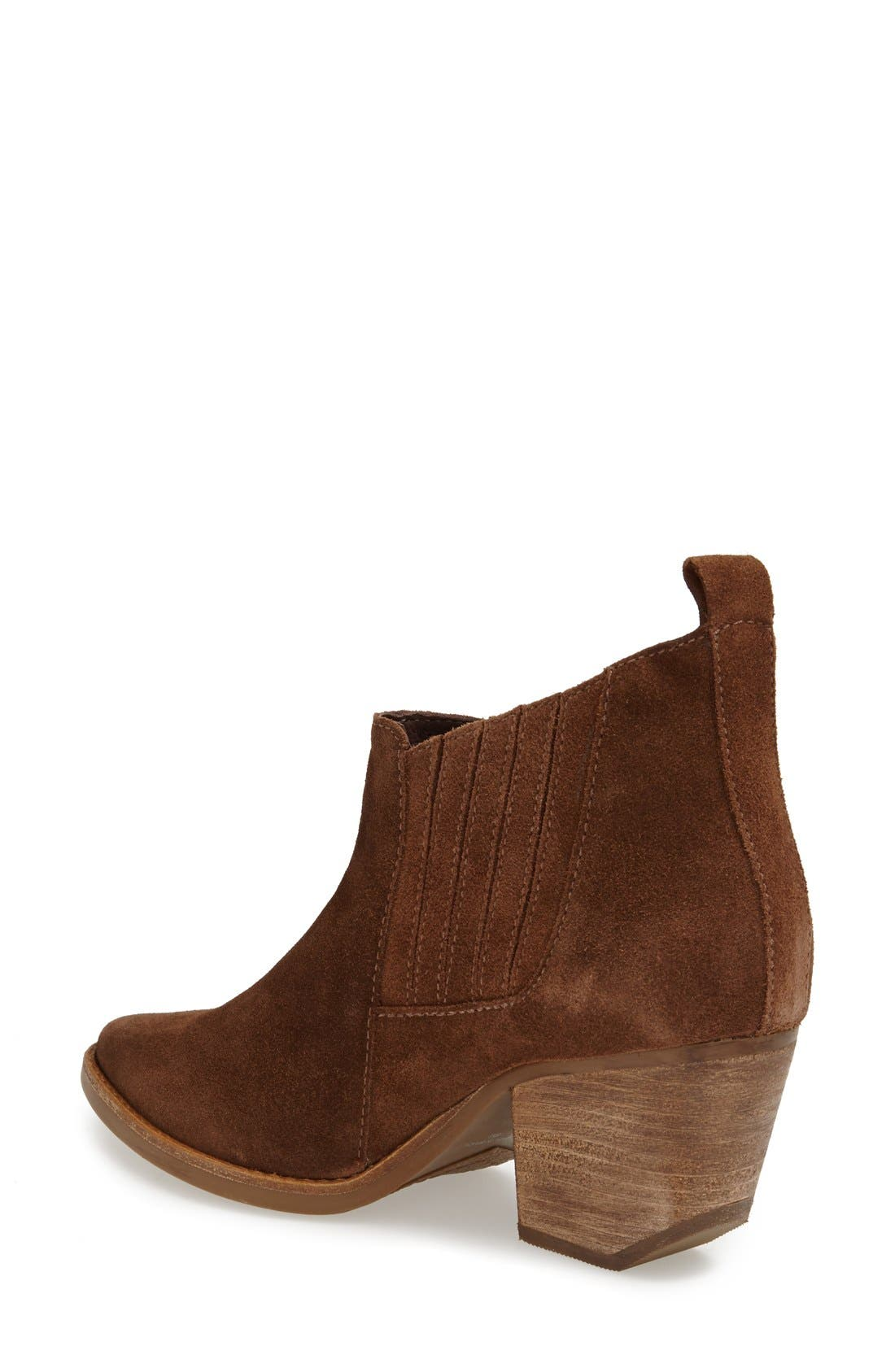 ,                             'Eve' Suede Bootie,                             Alternate thumbnail 6, color,                             206