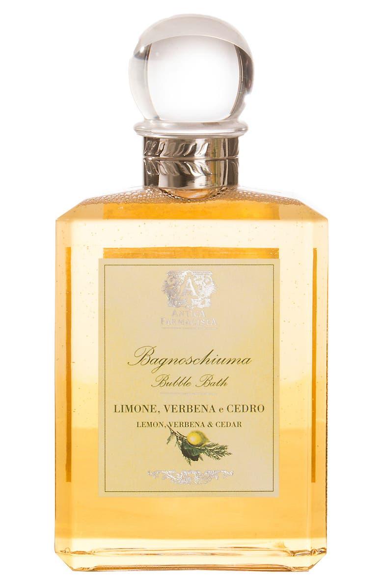 ANTICA FARMACISTA Lemon, Verbena & Cedar Bubble Bath, Main, color, NO COLOR