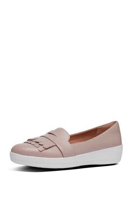 Image of Fitflop Vianne Fringe Trim Sneaker Loafer