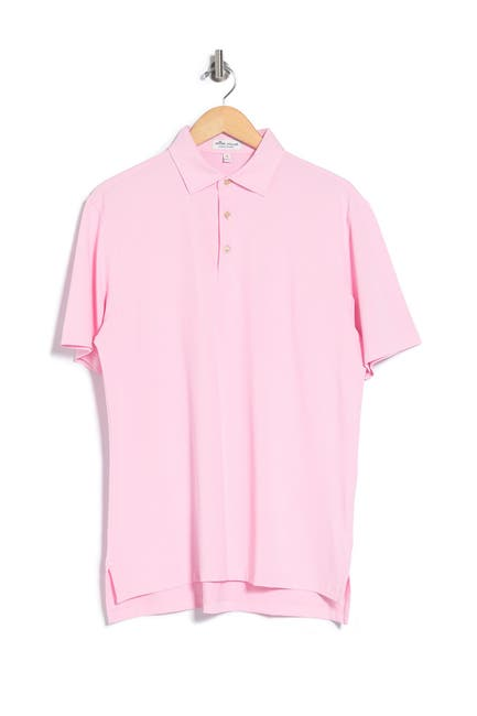 Image of Peter Millar Solid Stretch Polo Shirt
