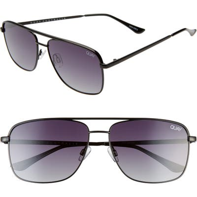 Quay Australia Poster Boy 60Mm Polarized Square Sunglasses -