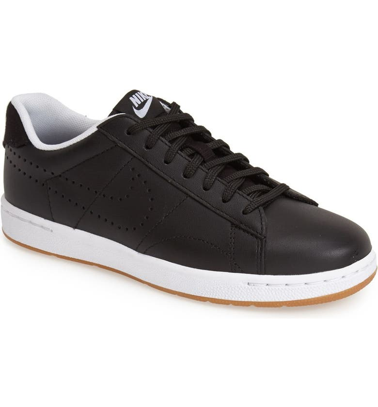 NIKE 'Classic Ultra' Leather Sneaker, Main, color, 001