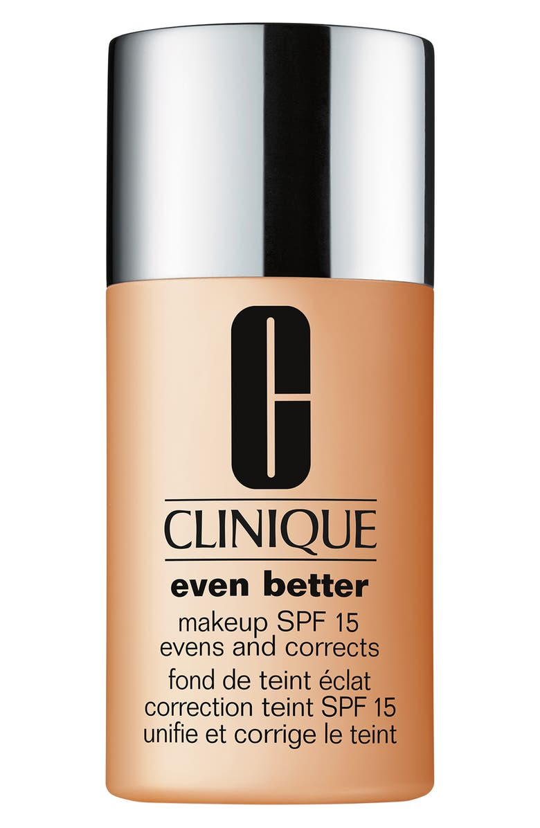 CLINIQUE Even Better Makeup Foundation SPF 15, Main, color, 76 TOASTED WHEAT