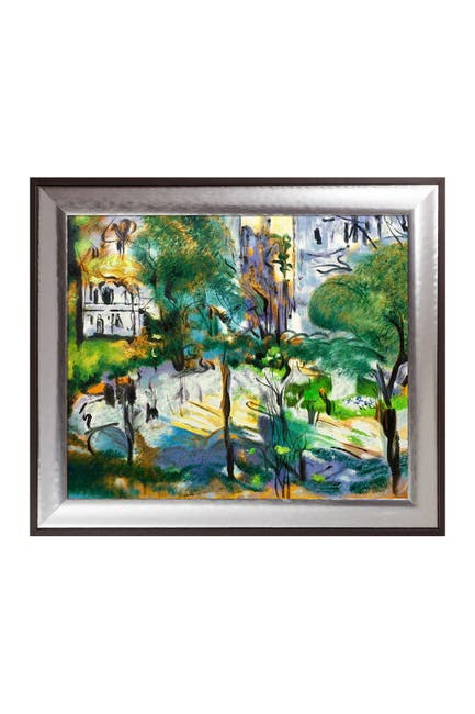 Image of Overstock Art Berlioz Park Framed Oil Painting by Edouard Vuillard