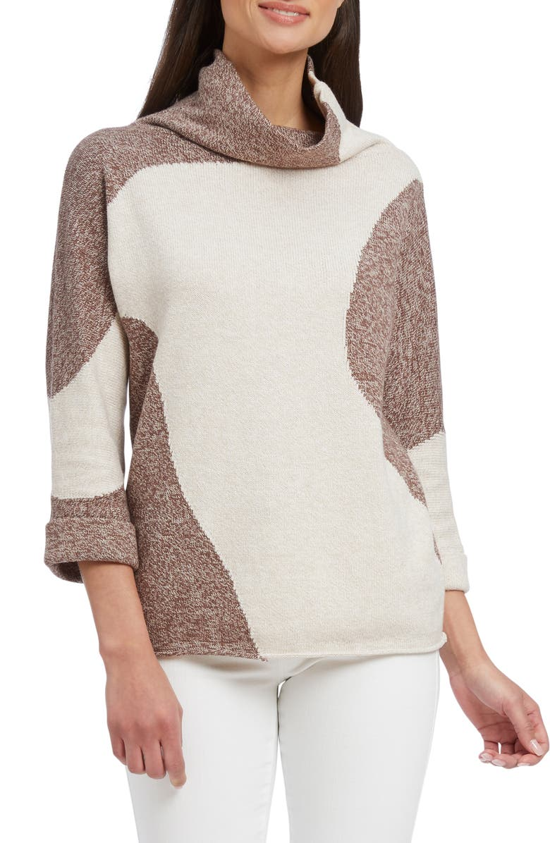 NIC ZOE Revolve Turtleneck Regular Petite
