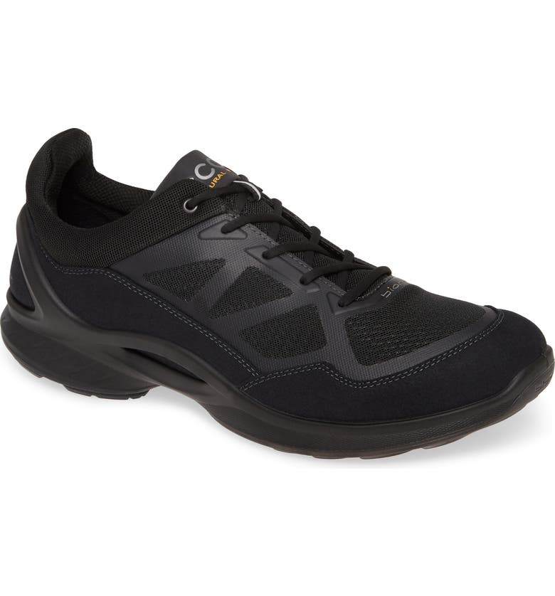 ECCO Biom Fjuel Sneaker, Main, color, BLACK