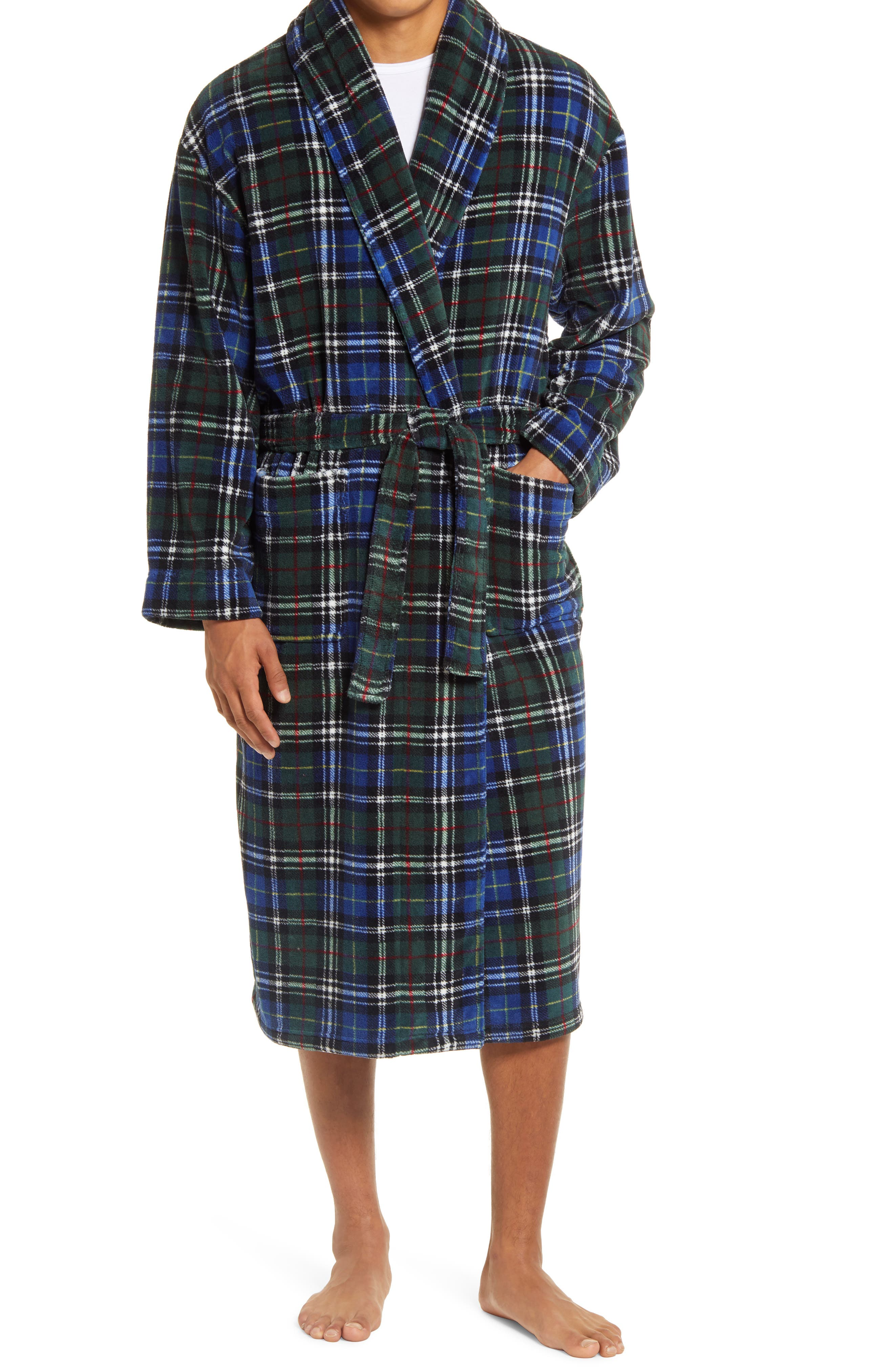 Power Plaids Plush Robe