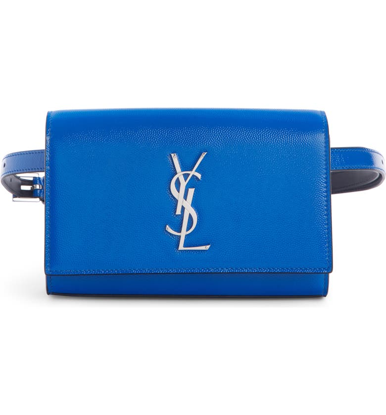 SAINT LAURENT Kate Leather Belt Bag, Main, color, 400