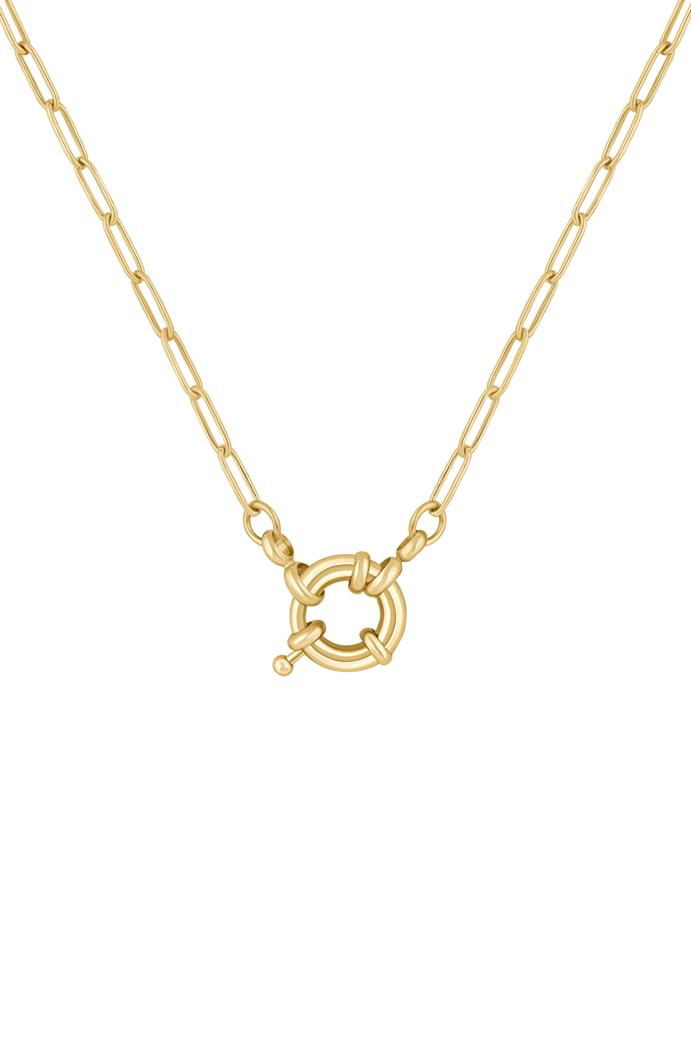 Neptune Pendant Necklace