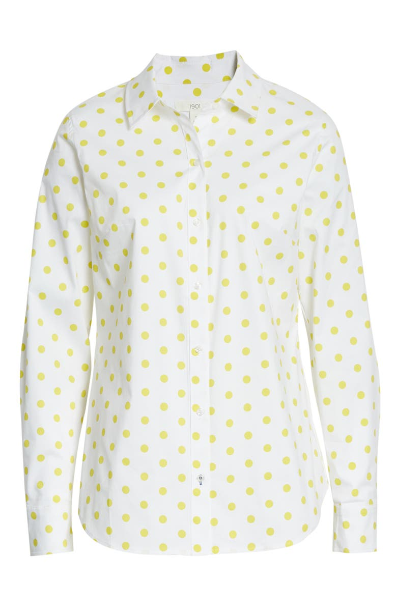 1901 Button-Up Shirt, Main, color, 105