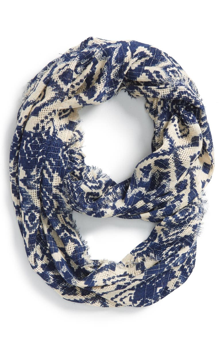 BP. Ikat Infinity Scarf, Main, color, 900