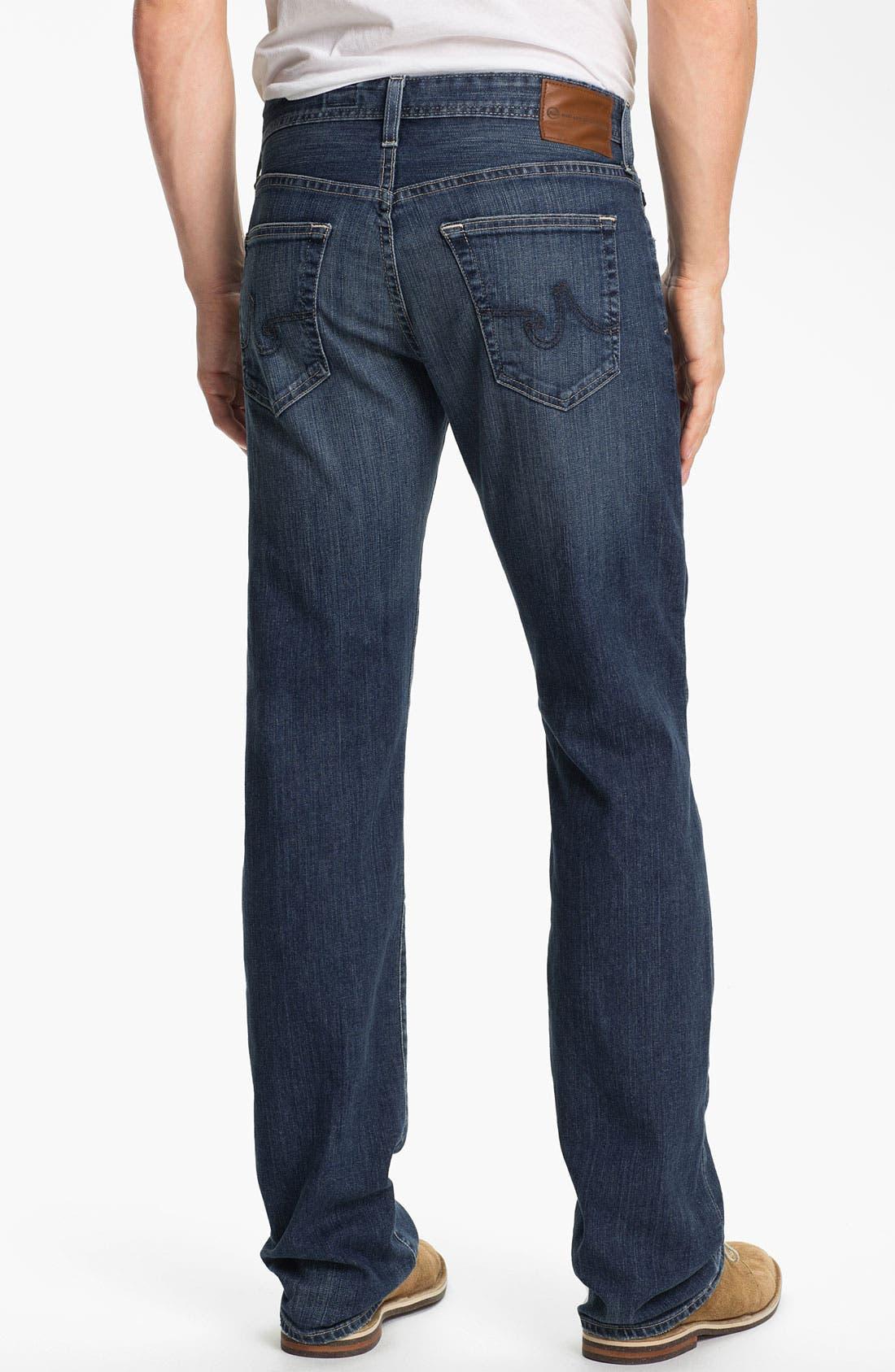,                             'Protégé' Straight Leg Jeans,                             Alternate thumbnail 33, color,                             428