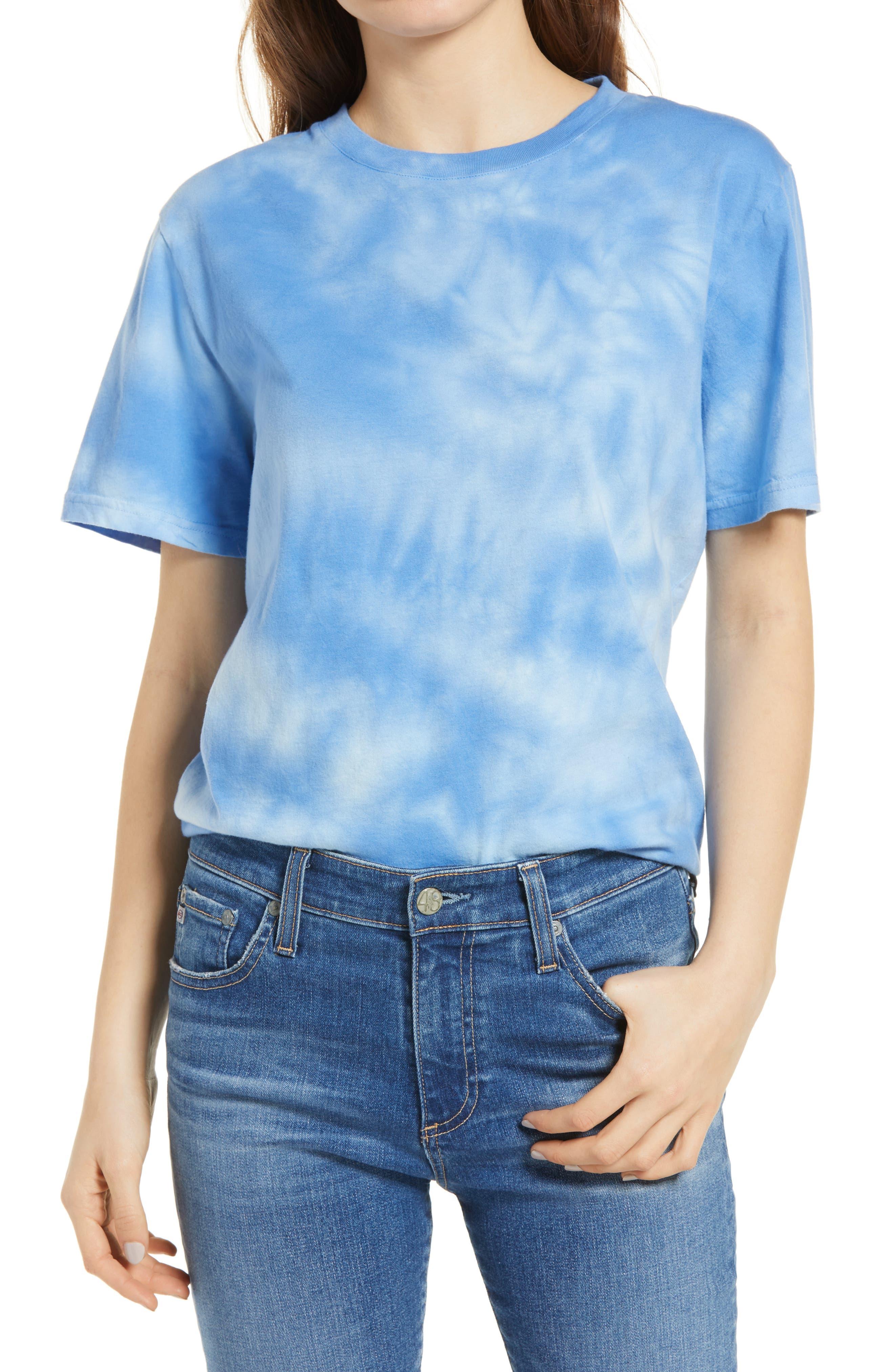 Tie Dye Organic Cotton T-Shirt