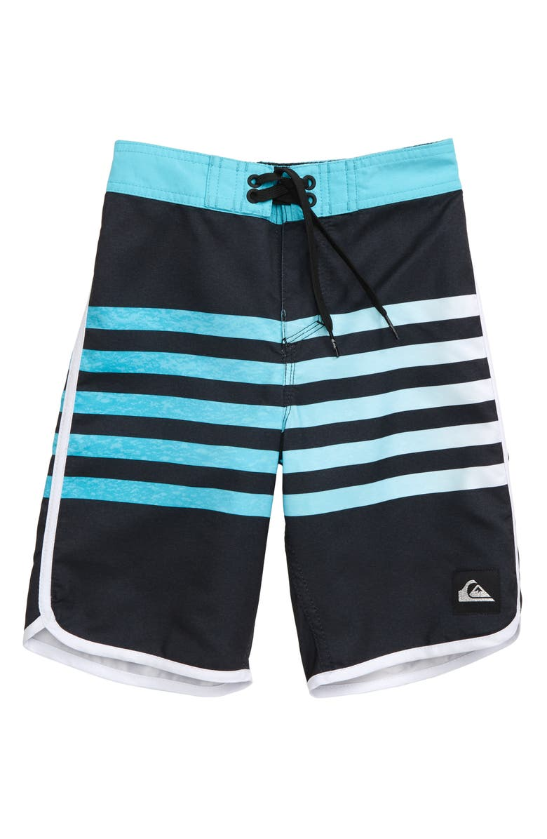 QUIKSILVER Everyday Grass Roots Board Shorts, Main, color, BLACK