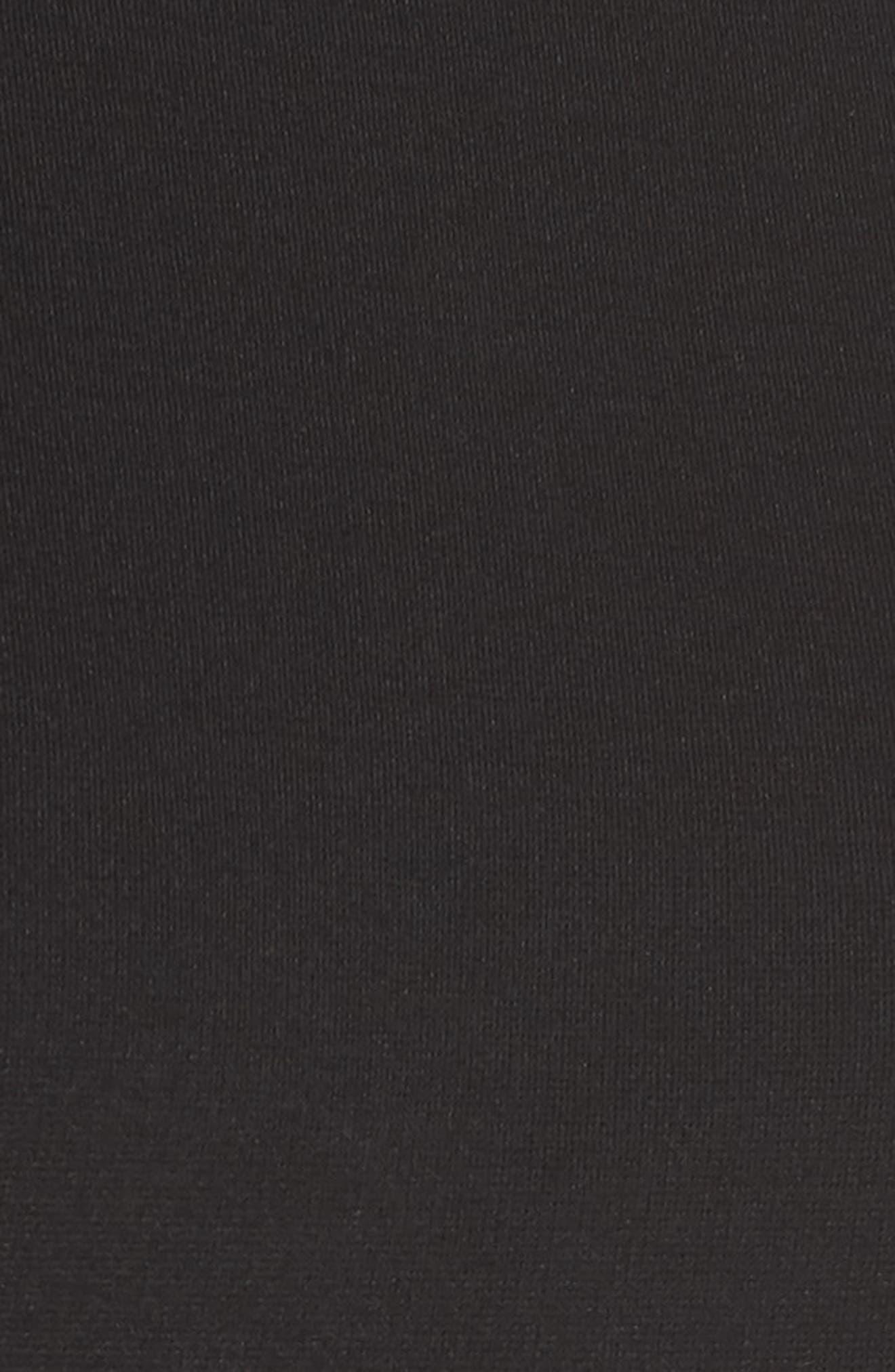 ,                             Zip Back Sheath Dress,                             Alternate thumbnail 8, color,                             BLACK