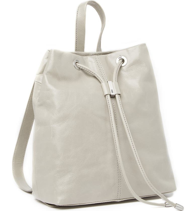 HOBO Kendall Leather Backpack, Main, color, CLOUD