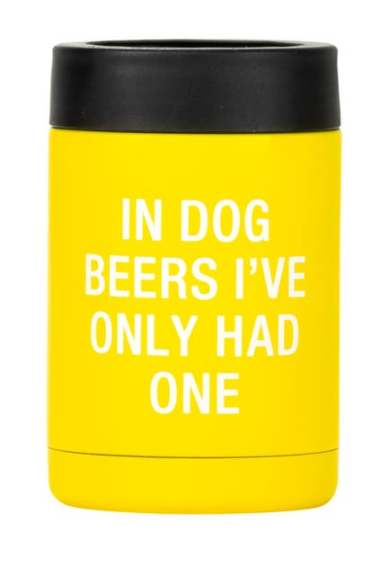 Image of ABOUT FACE DESIGNS Dog Beers Can Cooler