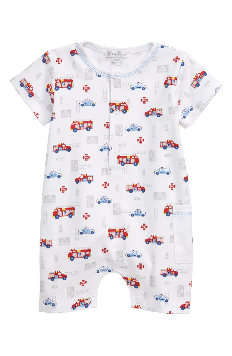 KISSY KISSY Rescue Team Romper, Main, color, 100