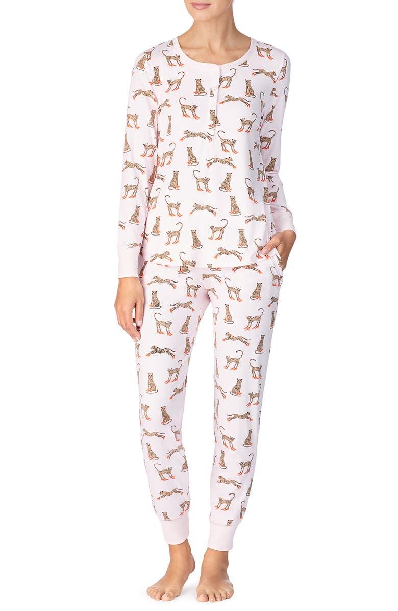 Print Brushed Jersey Pajamas by Kate Spade New York