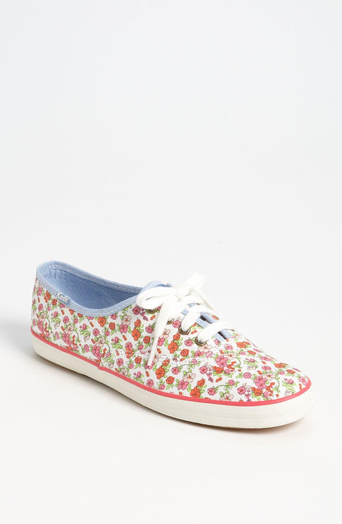 'Champion - Floral' Sneaker, Main, color, 100