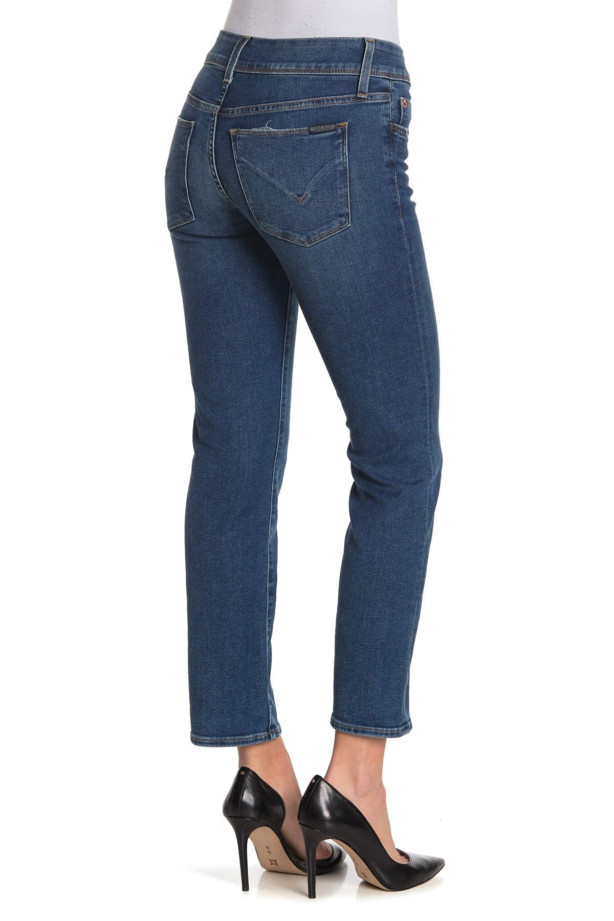 Image of HUDSON Jeans Ginny Ankle Crop Straight Jeans