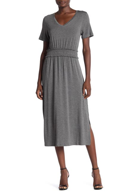 Image of B Collection by Bobeau Simone Smocked Dress
