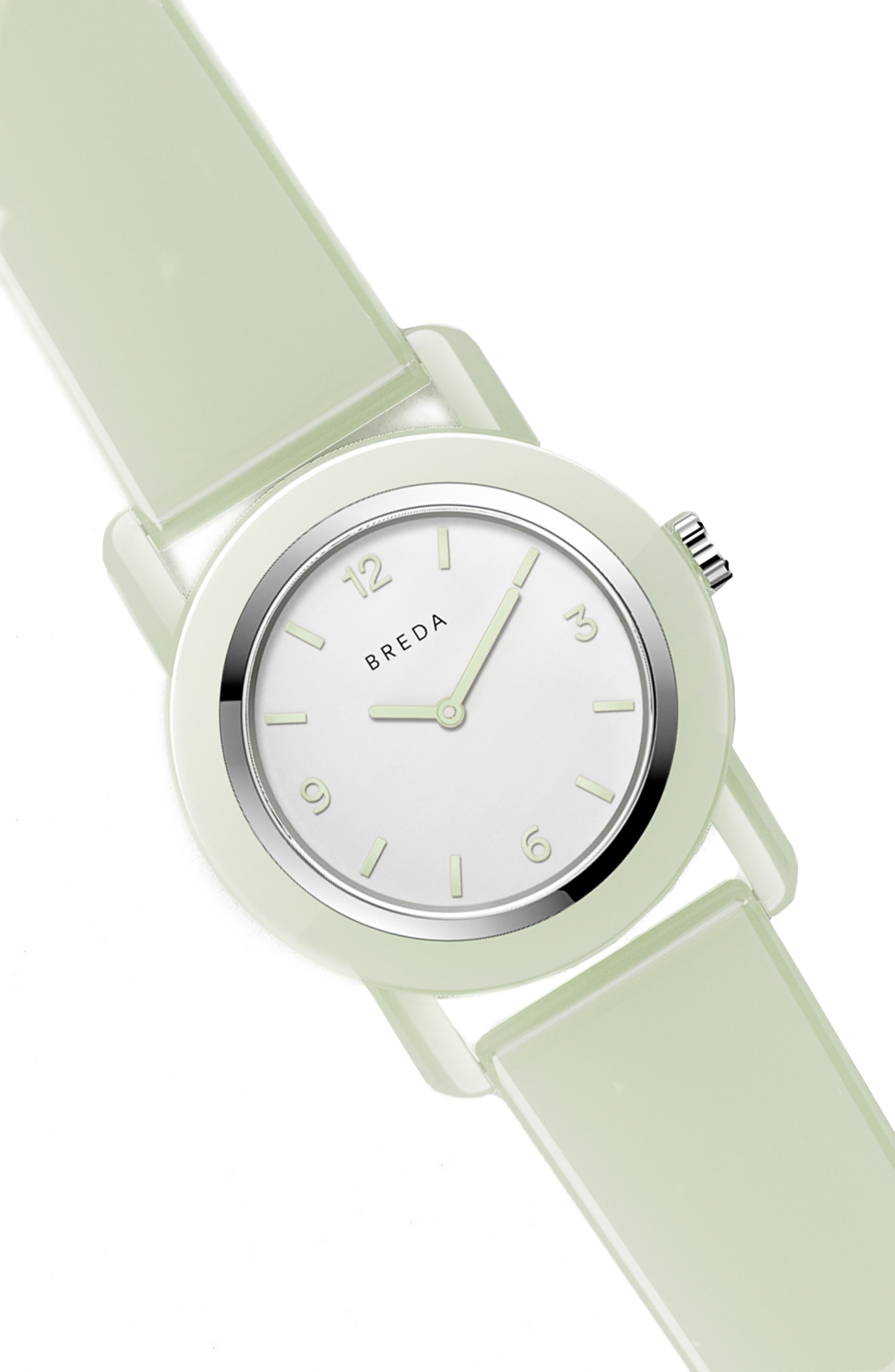 Play Glow In The Dark Rubber Strap Watch