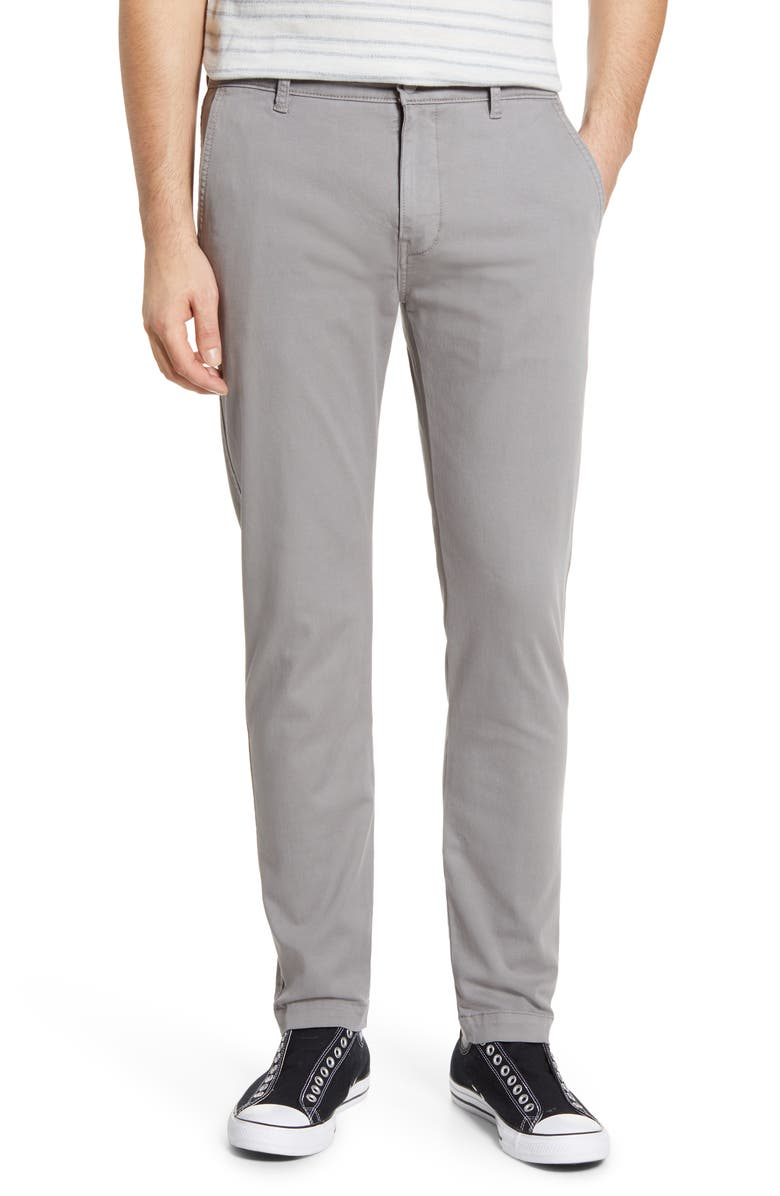 LEVI'S<SUP>®</SUP> XX Slim Tapered Chinos, Main, color, STEEL GREY - SHADY
