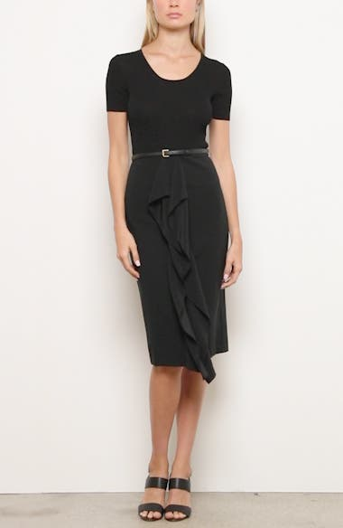 Rapace Belted Mock Two-Piece Dress, video thumbnail